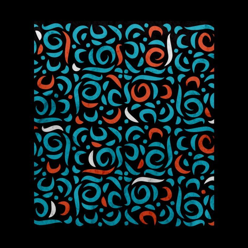 Arabic Organic Pattern Black by Tobe Fonseca's Artist Shop