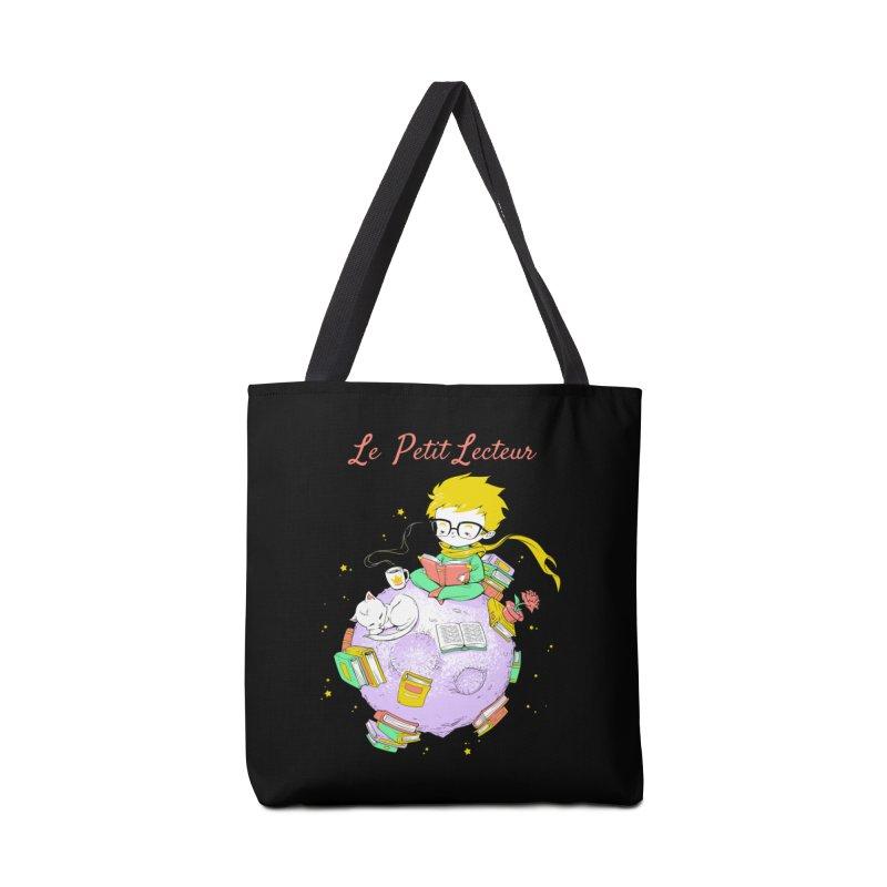 Le Petit Lecteur - The Little Reader Accessories Bag by Tobe Fonseca's Artist Shop