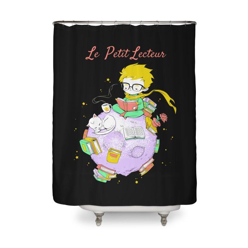 Le Petit Lecteur - The Little Reader Home Shower Curtain by Tobe Fonseca's Artist Shop