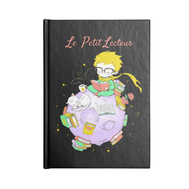 Le Petit Lecteur - The Little Reader Accessories Notebook by Tobe Fonseca's Artist Shop