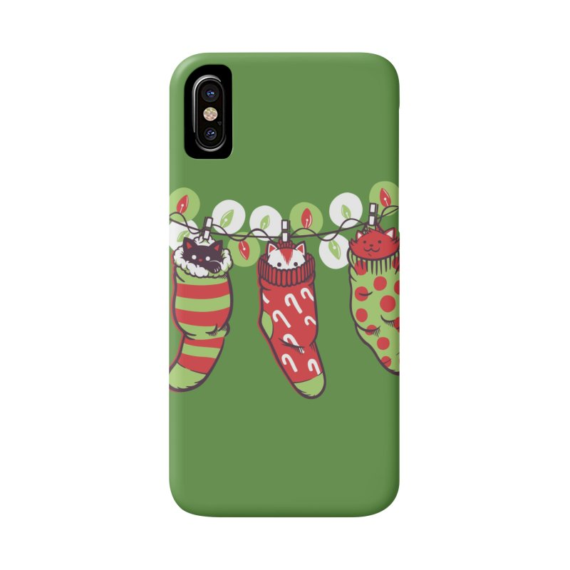 Jingle Meow Accessories Phone Case by Tobe Fonseca's Artist Shop
