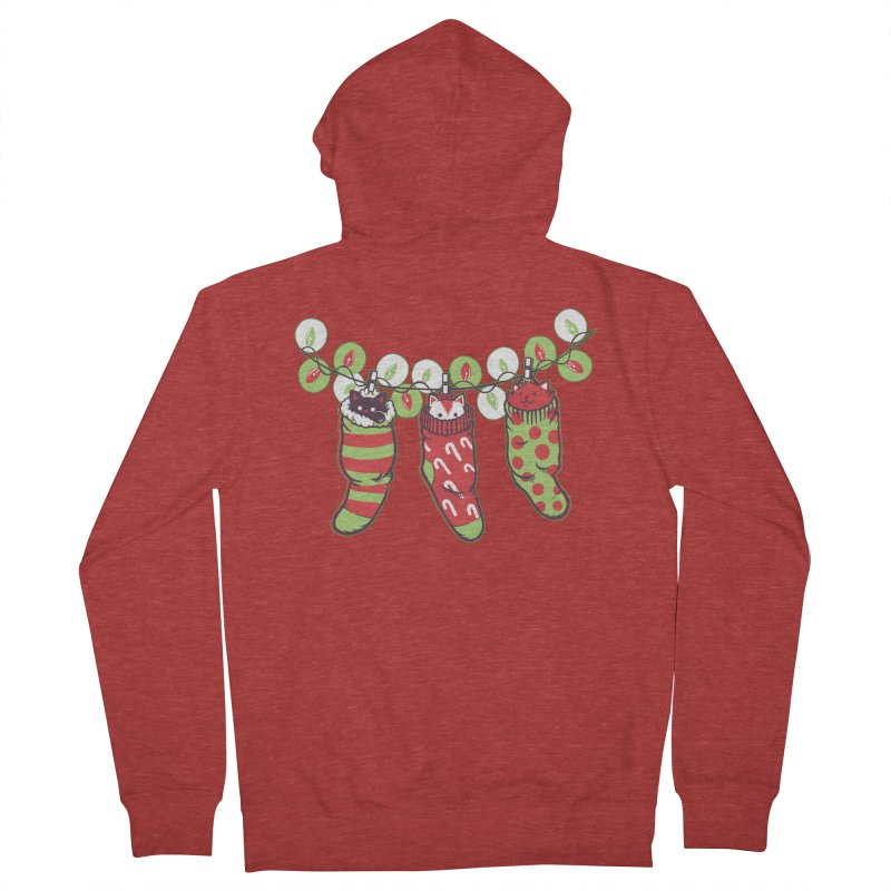 Jingle Meow Women's Zip-Up Hoody by Tobe Fonseca's Artist Shop