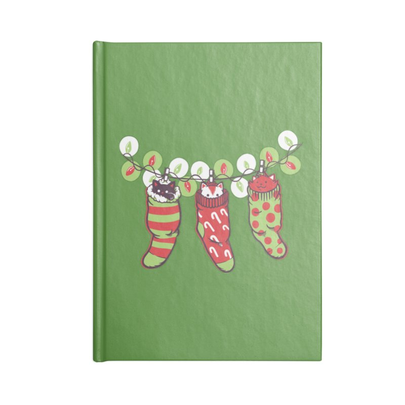 Jingle Meow Accessories Notebook by Tobe Fonseca's Artist Shop