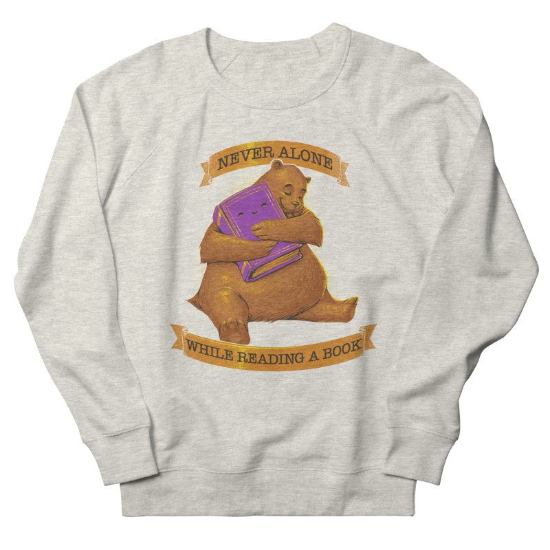 Never Alone While Reading a Book Men's Sweatshirt by Tobe Fonseca's Artist Shop
