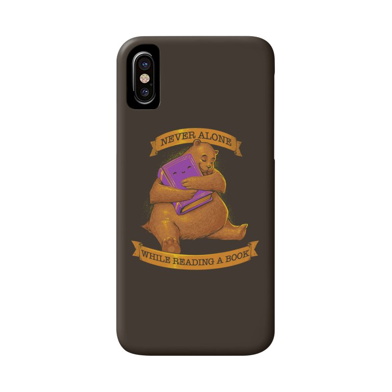 Never Alone While Reading a Book Accessories Phone Case by Tobe Fonseca's Artist Shop