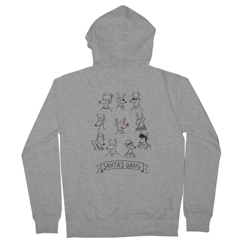 Santa's Gang Men's Zip-Up Hoody by Tobe Fonseca's Artist Shop