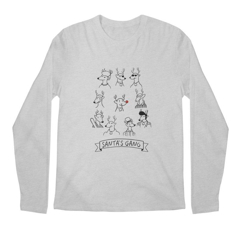 Santa's Gang Men's Longsleeve T-Shirt by Tobe Fonseca's Artist Shop