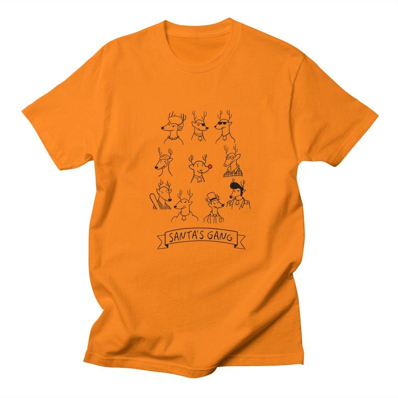 Santa's Gang Men's T-shirt by Tobe Fonseca's Artist Shop