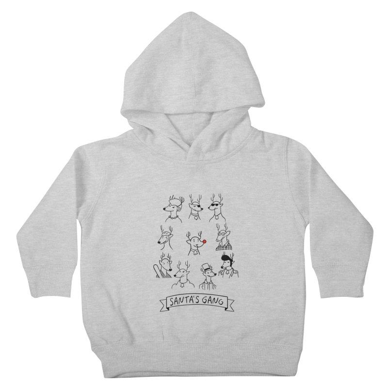 Santa's Gang Kids Toddler Pullover Hoody by Tobe Fonseca's Artist Shop