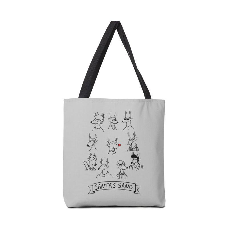 Santa's Gang Accessories Bag by Tobe Fonseca's Artist Shop