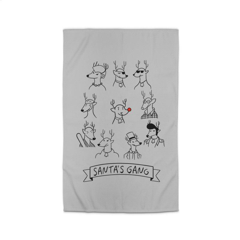 Santa's Gang Home Rug by Tobe Fonseca's Artist Shop