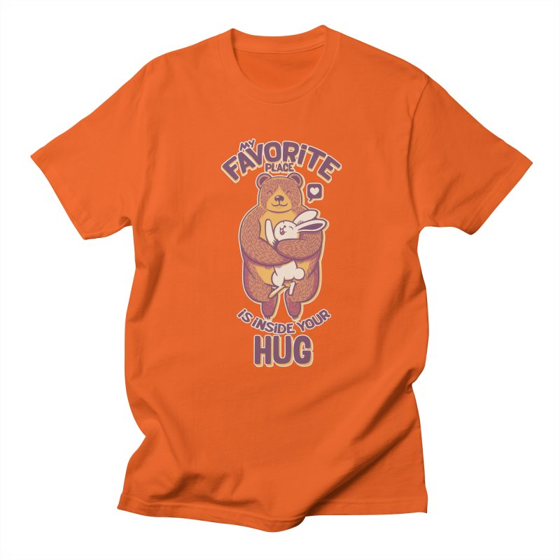 My Favorite Place Is Inside Your Hug Men's T-shirt by Tobe Fonseca's Artist Shop