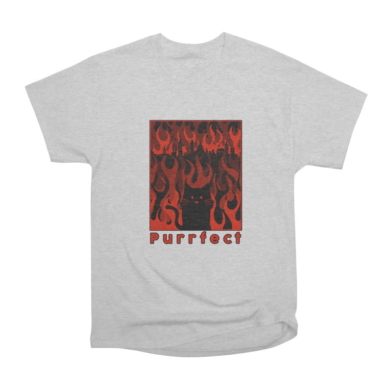Purrfect Women's Classic Unisex T-Shirt by Tobe Fonseca's Artist Shop