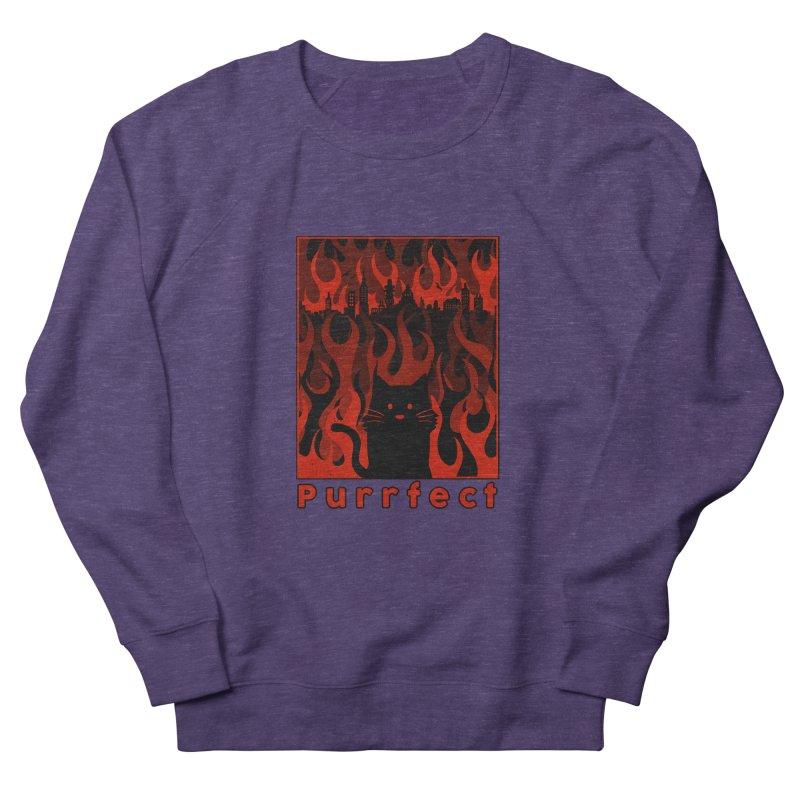 Purrfect Women's Sweatshirt by Tobe Fonseca's Artist Shop