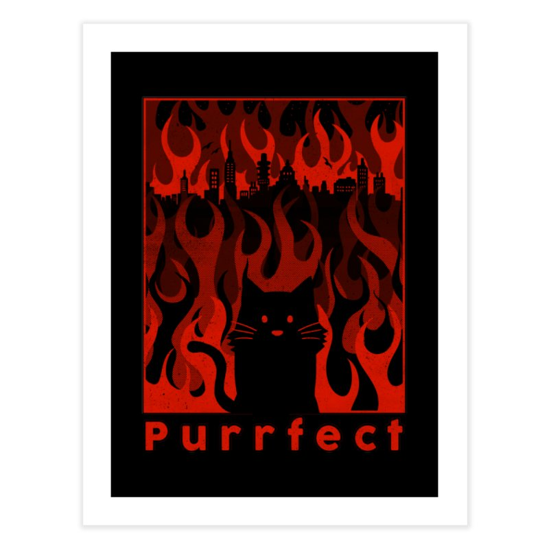 Purrfect Home Fine Art Print by Tobe Fonseca's Artist Shop