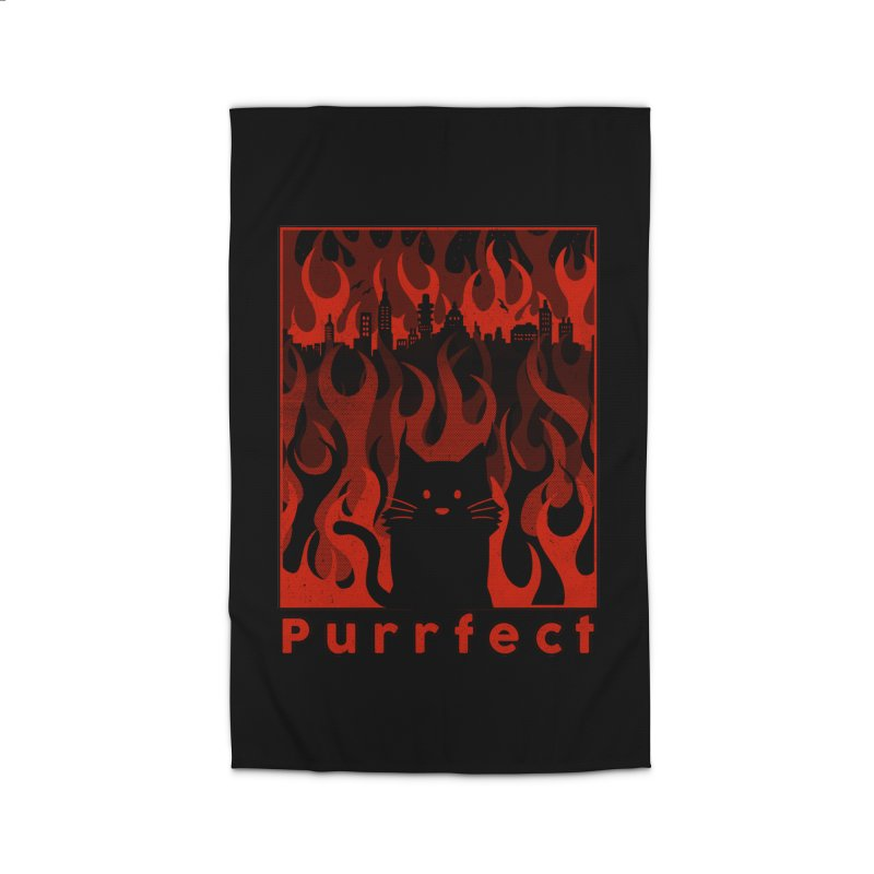 Purrfect Home Rug by Tobe Fonseca's Artist Shop