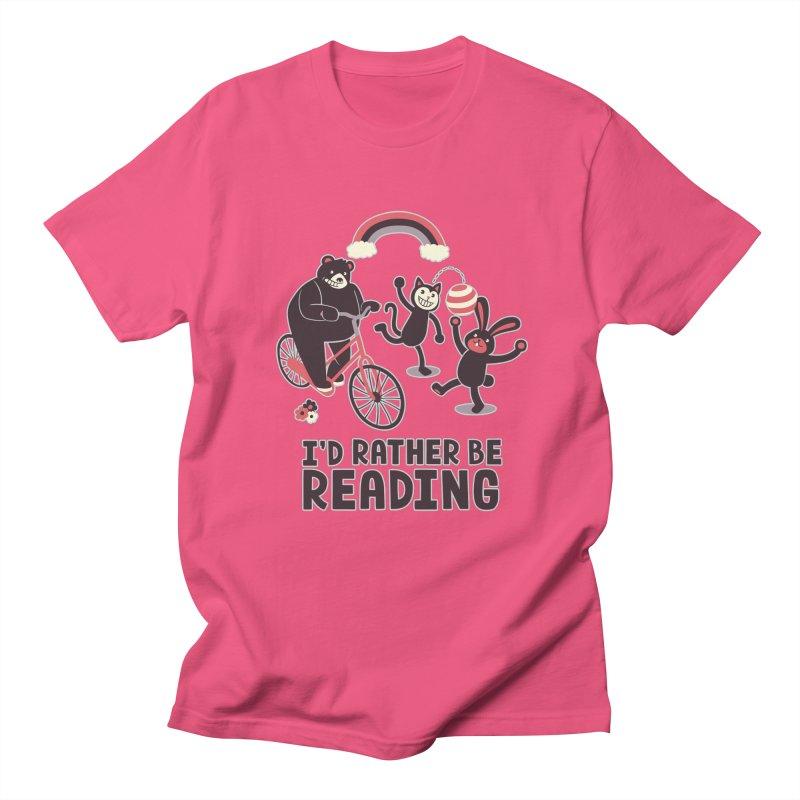 I'd Rather Be Reading Men's T-shirt by Tobe Fonseca's Artist Shop