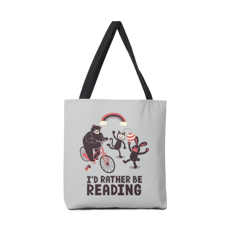 I'd Rather Be Reading Accessories Bag by Tobe Fonseca's Artist Shop