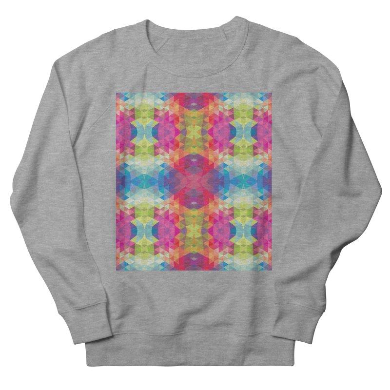 Geometric Fractal Kaleidoscope Rainbow Women's Sweatshirt by Tobe Fonseca's Artist Shop