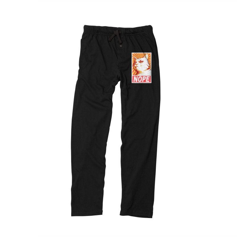 Obey Cats Men's Lounge Pants by Tobe Fonseca's Artist Shop