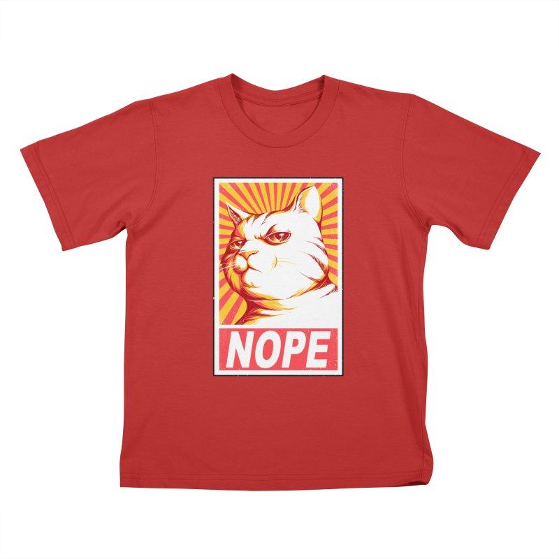 Obey Cats Kids T-shirt by Tobe Fonseca's Artist Shop