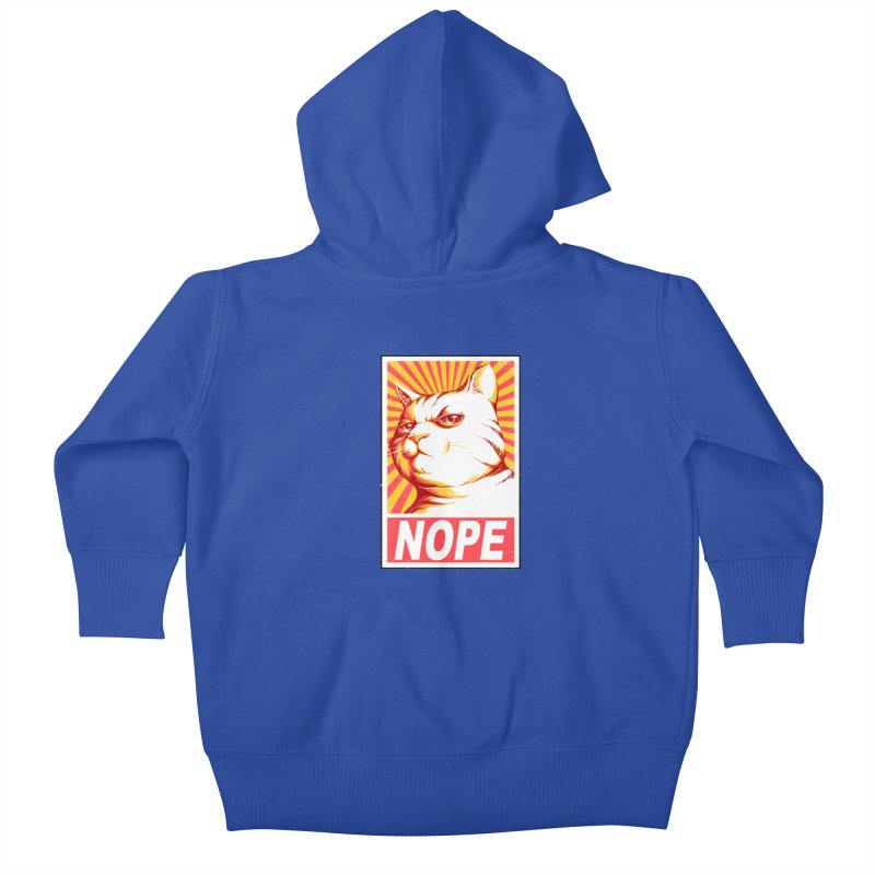 Obey Cats Kids Baby Zip-Up Hoody by Tobe Fonseca's Artist Shop