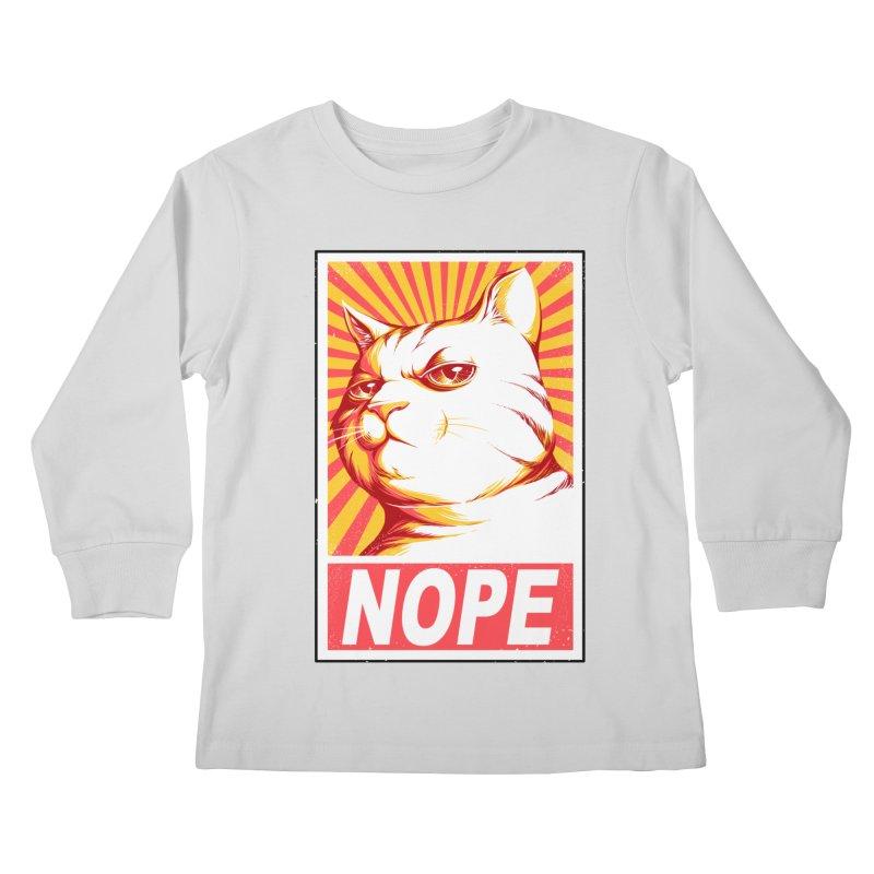 Obey Cats Kids Longsleeve T-Shirt by Tobe Fonseca's Artist Shop