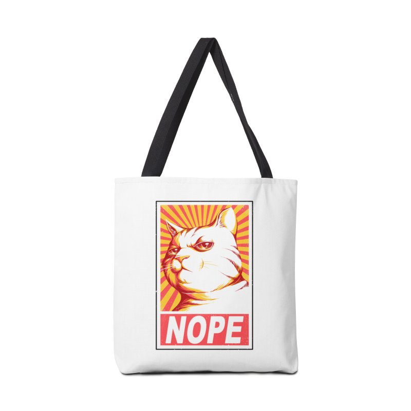 Obey Cats Accessories Bag by Tobe Fonseca's Artist Shop