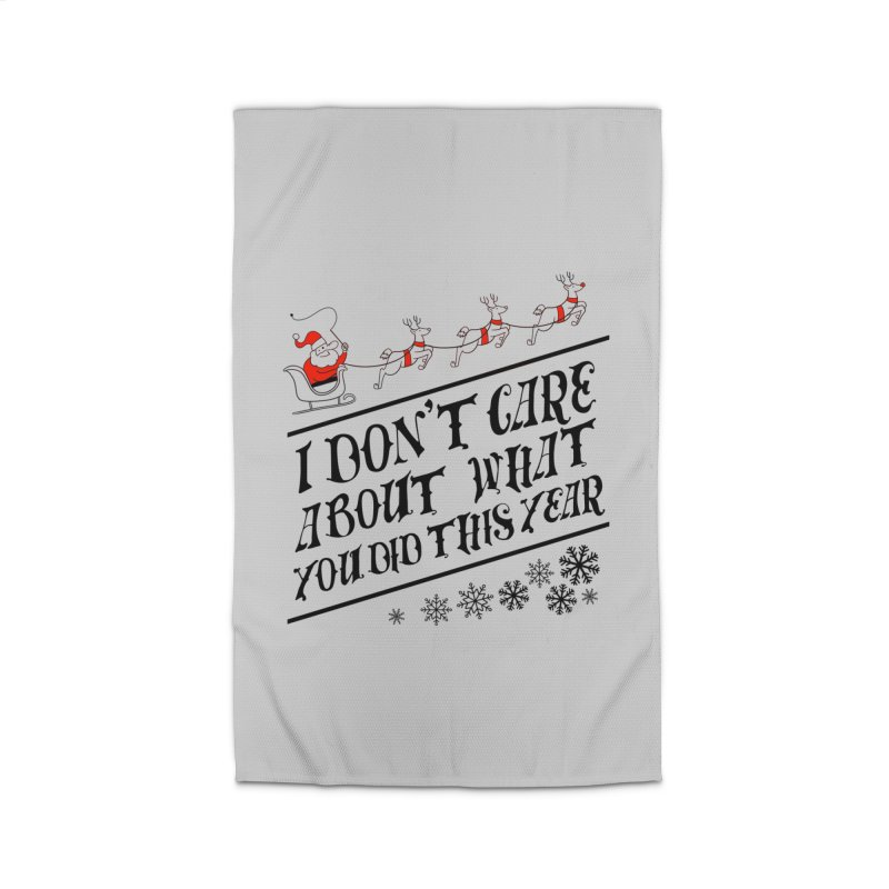 I dont care about what you did this year Home Rug by Tobe Fonseca's Artist Shop