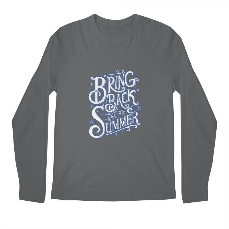 Bring Back the Summer Men's Longsleeve T-Shirt by Tobe Fonseca's Artist Shop