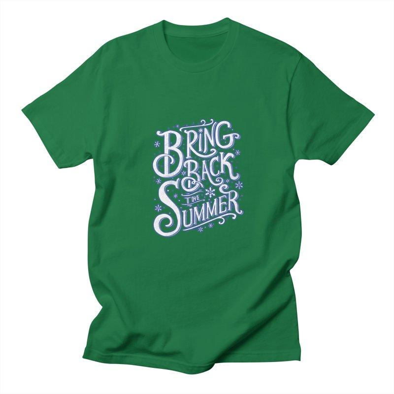Bring Back the Summer Men's T-shirt by Tobe Fonseca's Artist Shop
