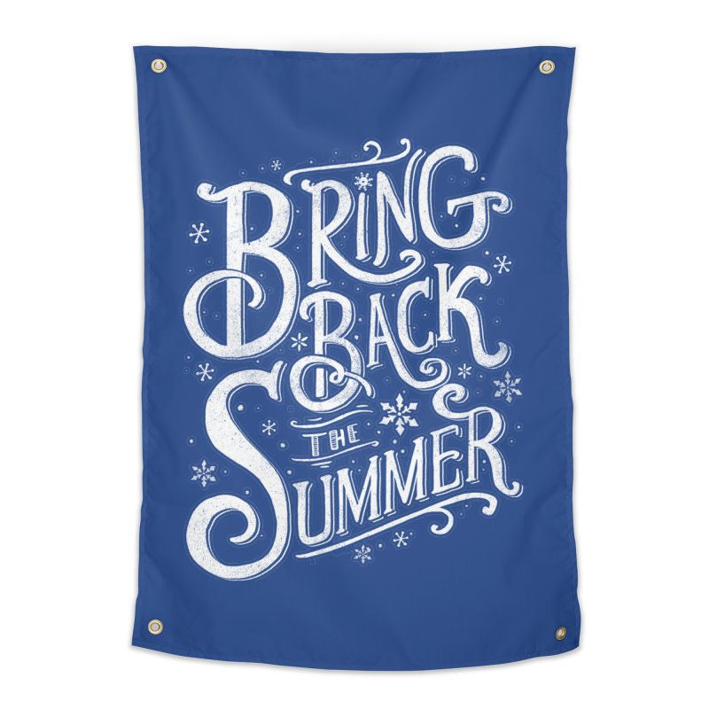 Bring Back the Summer Home Tapestry by Tobe Fonseca's Artist Shop