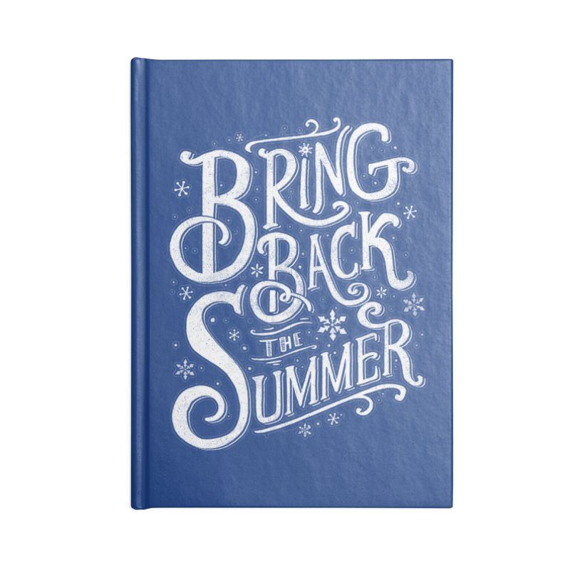 Bring Back the Summer Accessories Notebook by Tobe Fonseca's Artist Shop