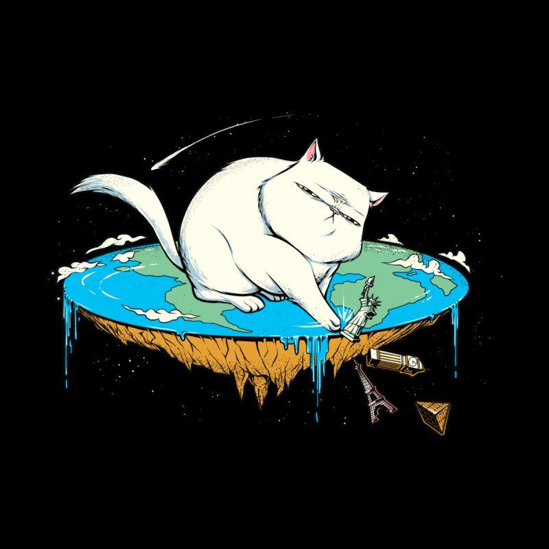 Flat Earth Cat by Tobe Fonseca's Artist Shop
