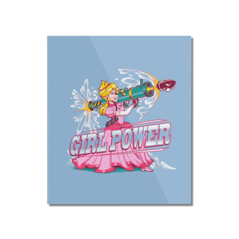 Girl Power Home Mounted Acrylic Print by Tobe Fonseca's Artist Shop