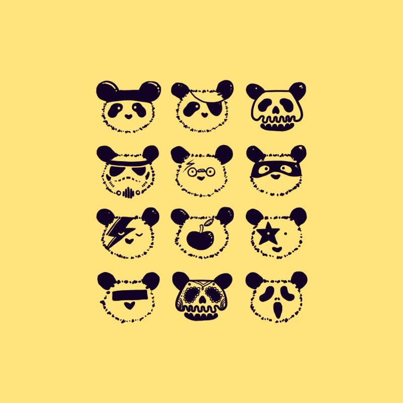 Pop Panda by Tobe Fonseca's Artist Shop