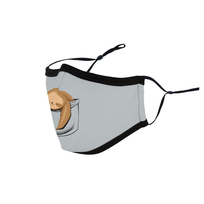 Sloth in a Pocket Accessories Face Mask by Tobe Fonseca's Artist Shop