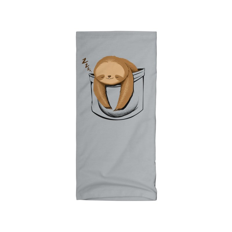Sloth in a Pocket Accessories Neck Gaiter by Tobe Fonseca's Artist Shop
