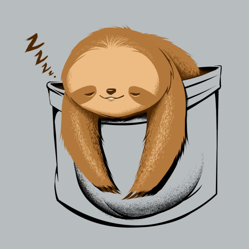 Sloth in a Pocket Women's T-Shirt by Tobe Fonseca's Artist Shop