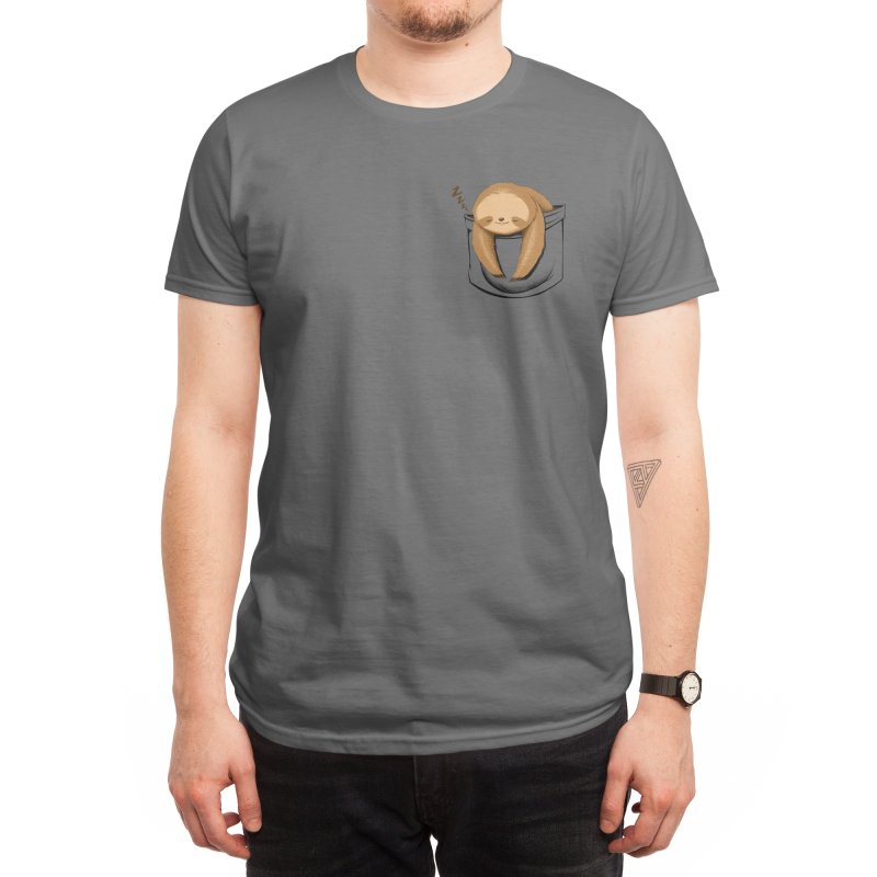 Sloth in a Pocket Men's T-Shirt by Tobe Fonseca's Artist Shop