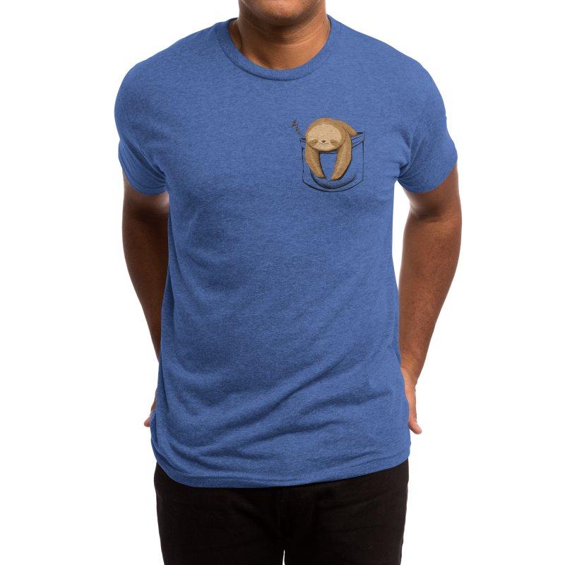 Sloth in a Pocket Men's T-Shirt by Tobe Fonseca's Artist Shop