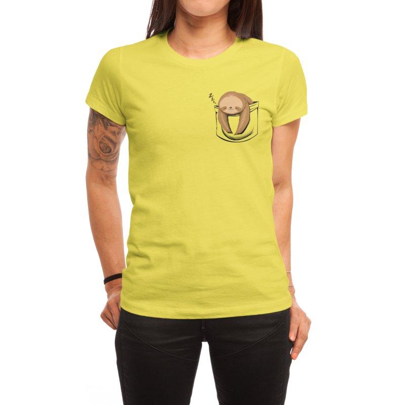 Sloth in a Pocket Women's T-Shirt by Tobe Fonseca's Artist Shop