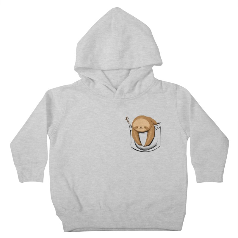 Sloth in a Pocket Kids Toddler Pullover Hoody by Tobe Fonseca's Artist Shop