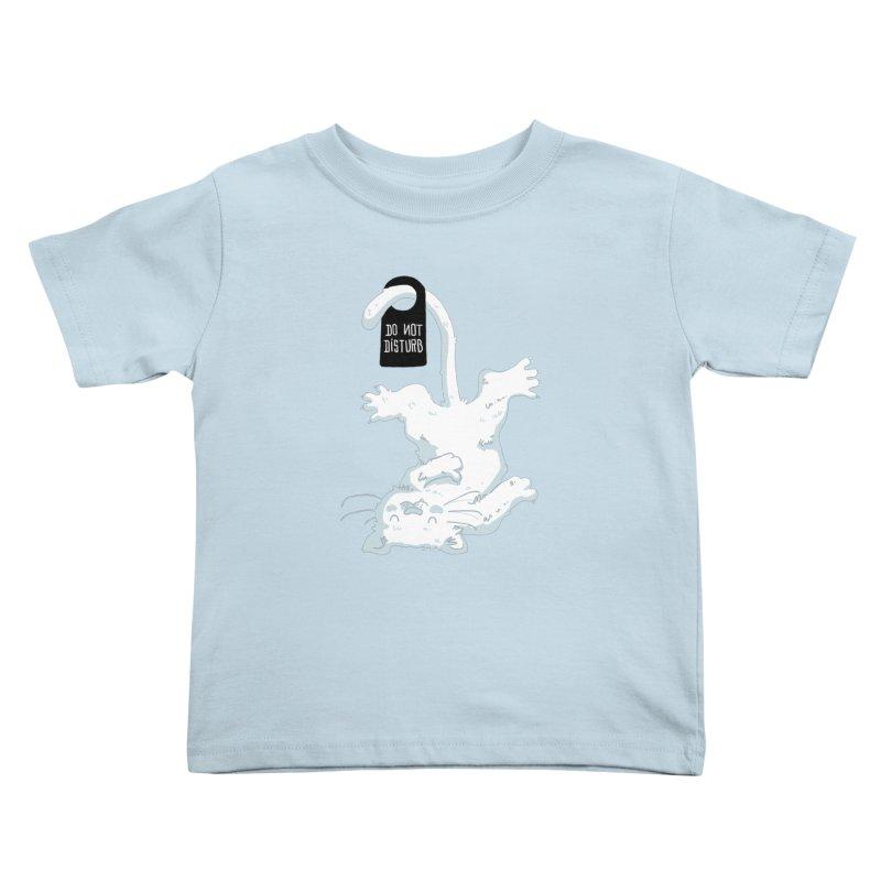 Do Not Disturb Kids Toddler T-Shirt by Tobe Fonseca's Artist Shop
