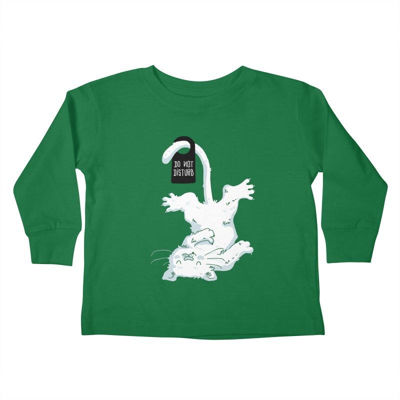 Do Not Disturb Kids Toddler Longsleeve T-Shirt by Tobe Fonseca's Artist Shop