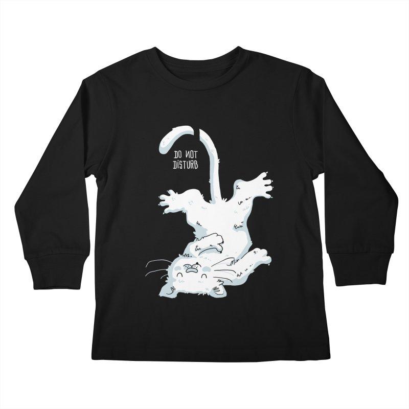 Do Not Disturb Kids Longsleeve T-Shirt by Tobe Fonseca's Artist Shop
