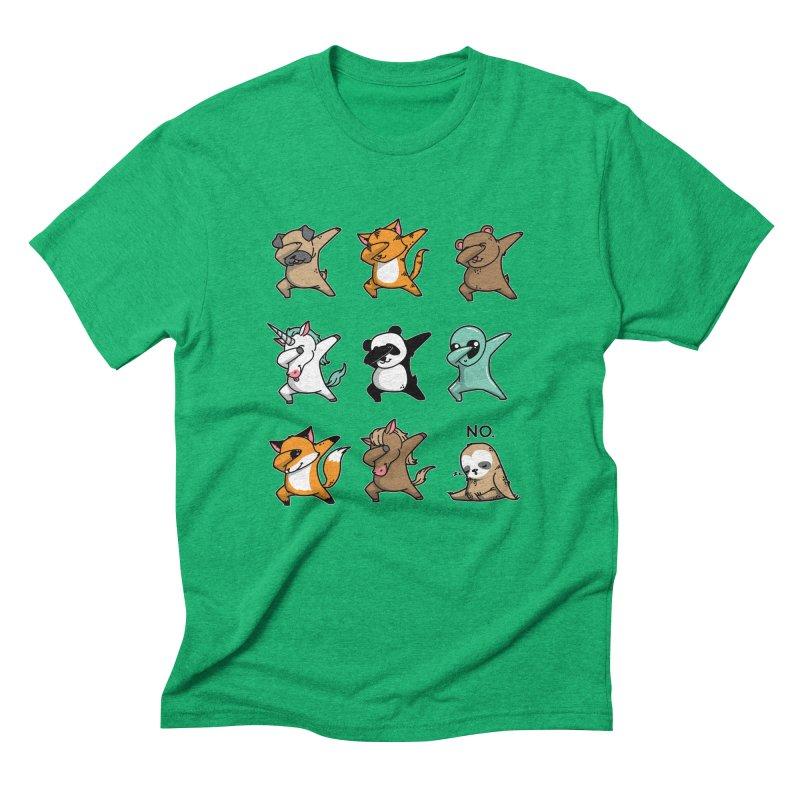 Dabbing Party Men's Triblend T-Shirt by Tobe Fonseca's Artist Shop