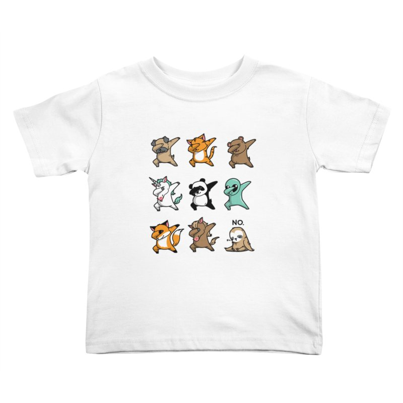 Dabbing Party Kids Toddler T-Shirt by Tobe Fonseca's Artist Shop