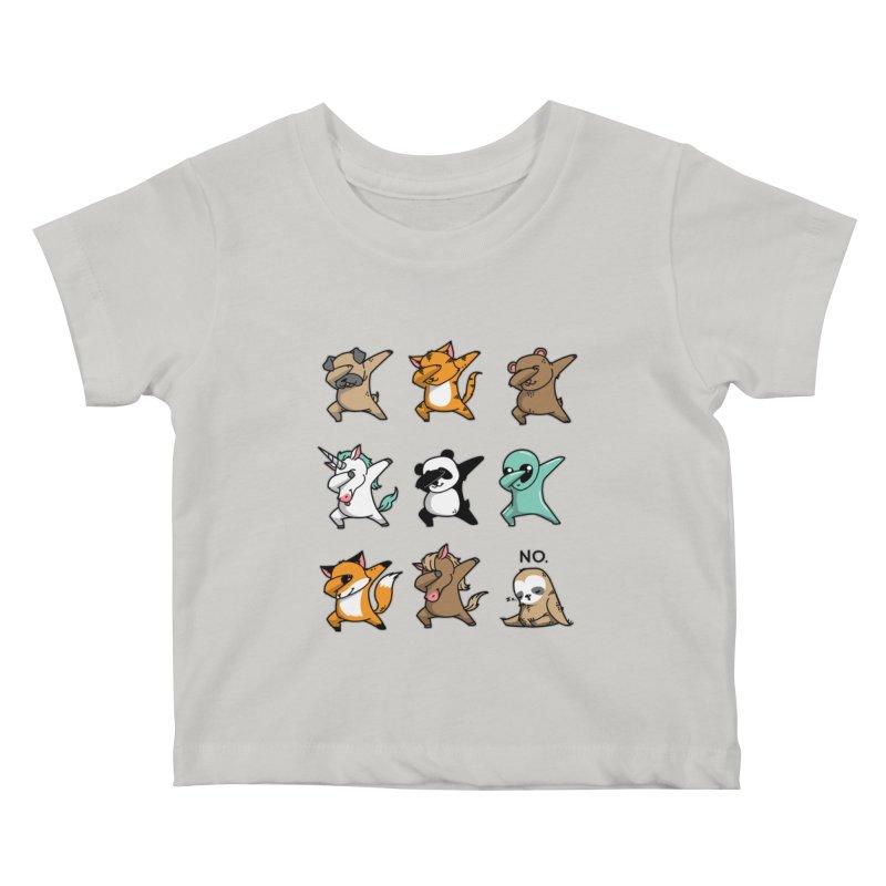 Dabbing Party Kids Baby T-Shirt by Tobe Fonseca's Artist Shop