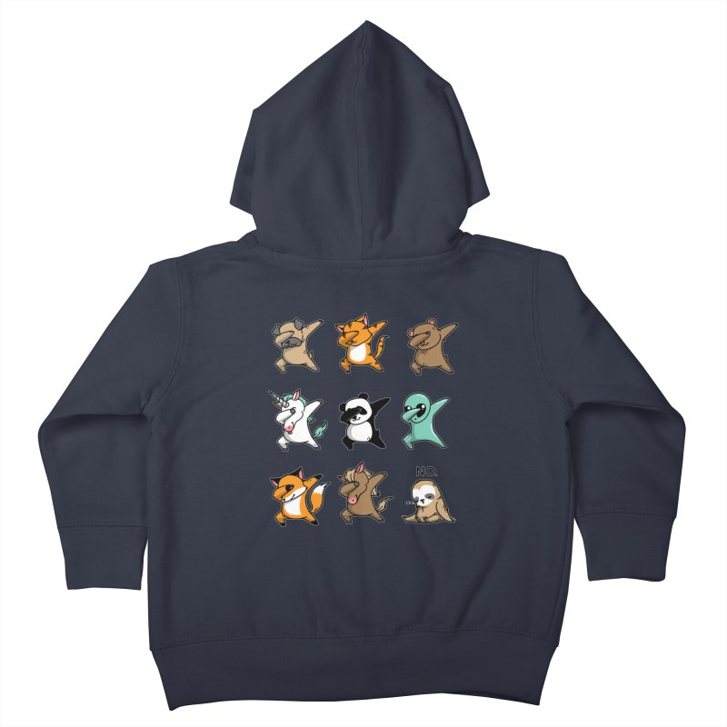 Dabbing Party Kids Toddler Zip-Up Hoody by Tobe Fonseca's Artist Shop